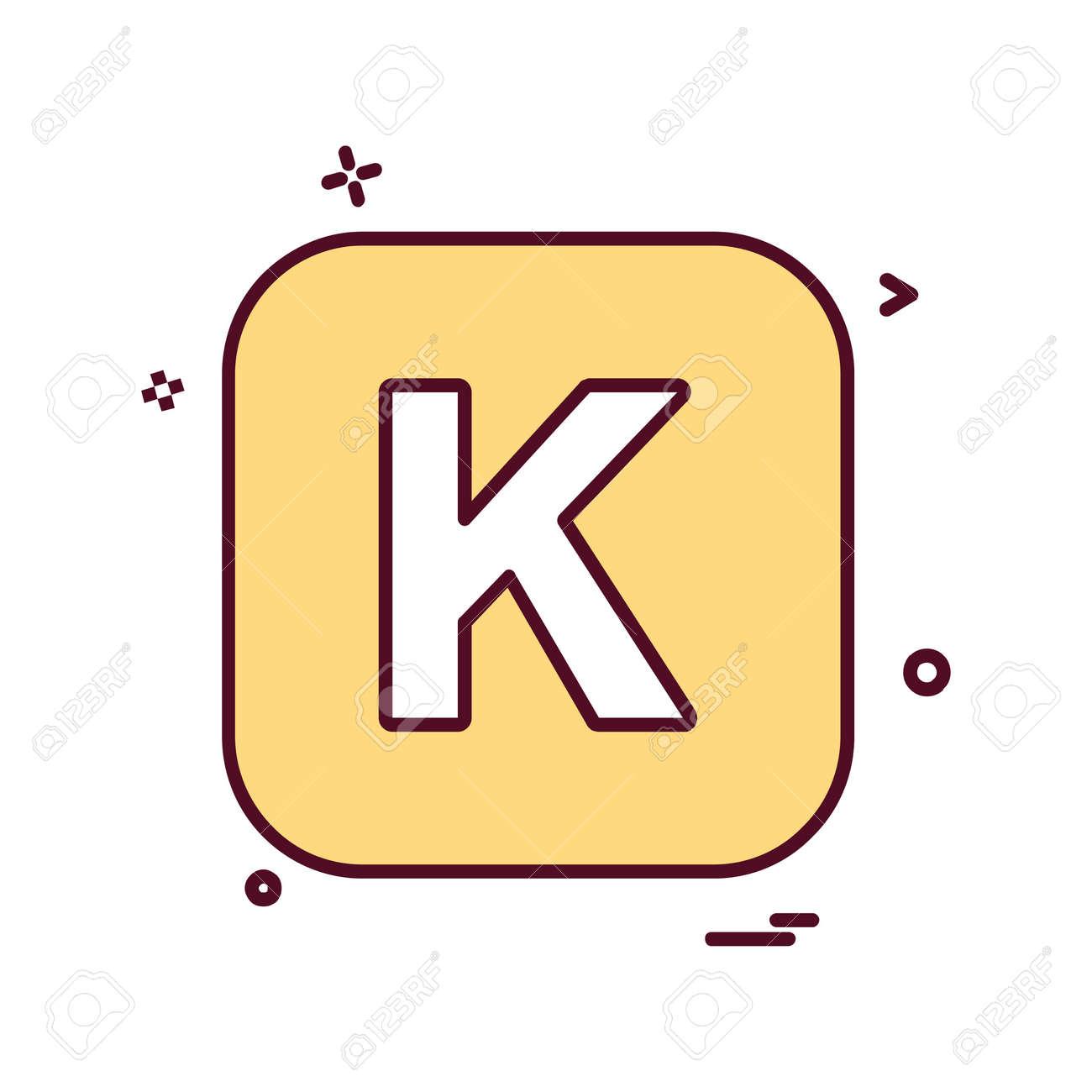 English Alphabets icon design vector - 122160246