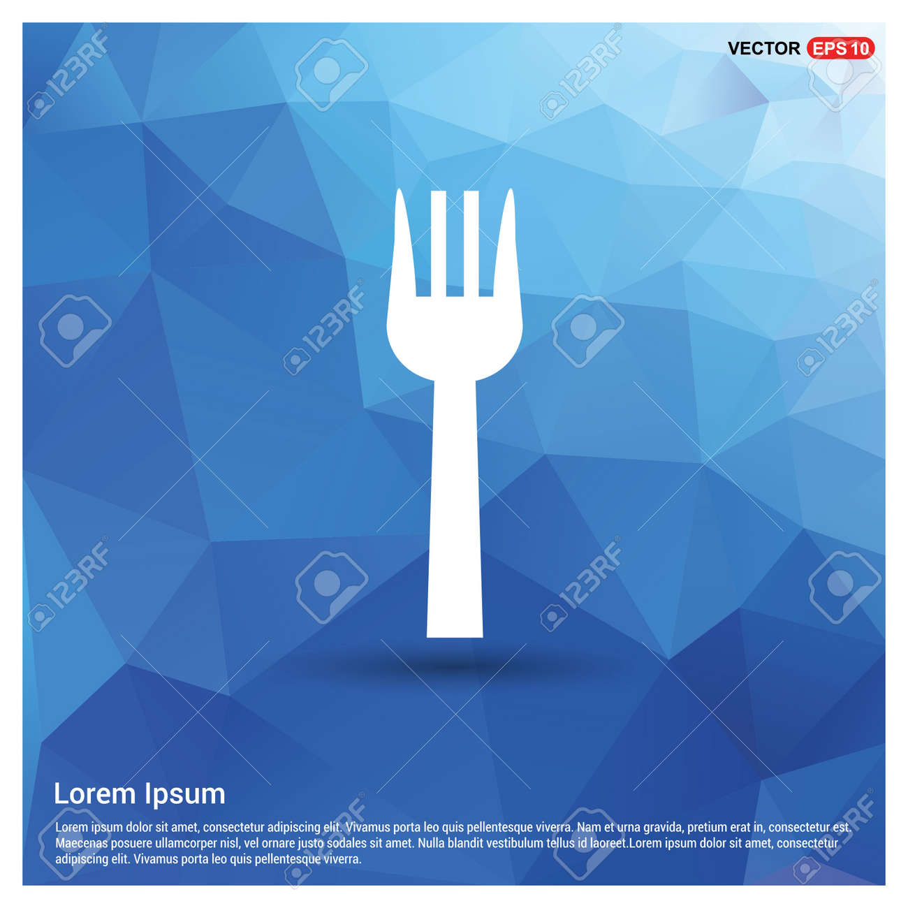 Fork icon - 122160353