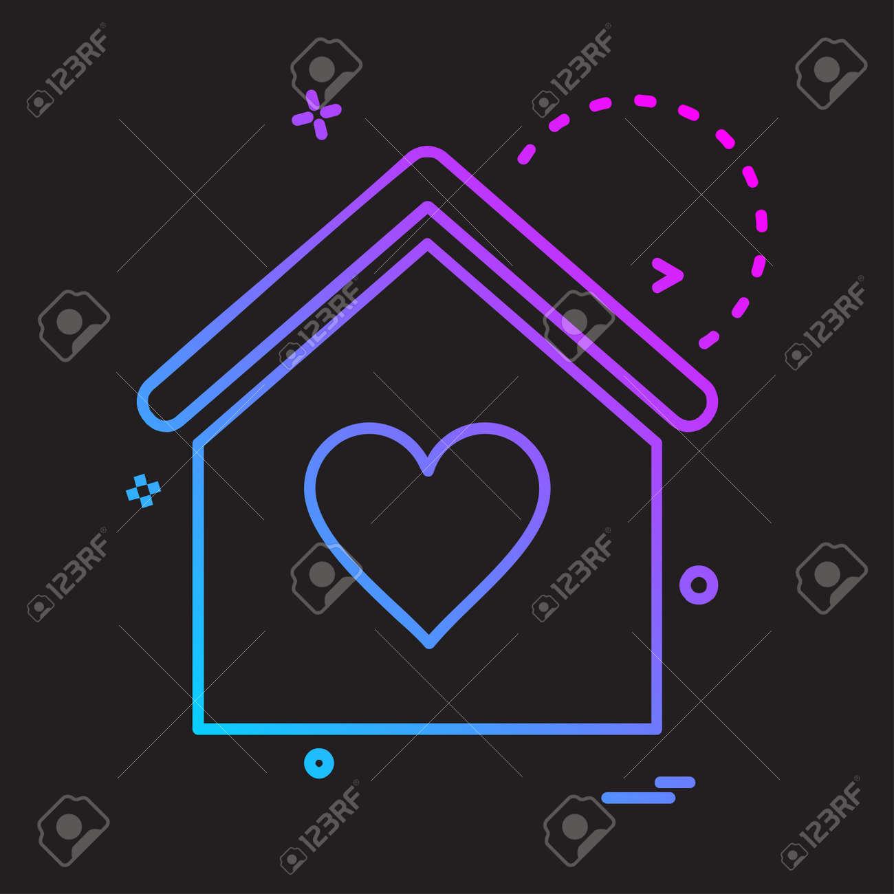 Real Estate icon design vector - 122160326