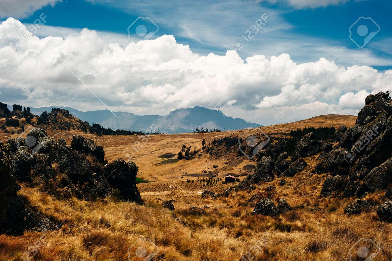 Mystical rock formations of Cumbemayo in Cajamarca PERU. - 169729319