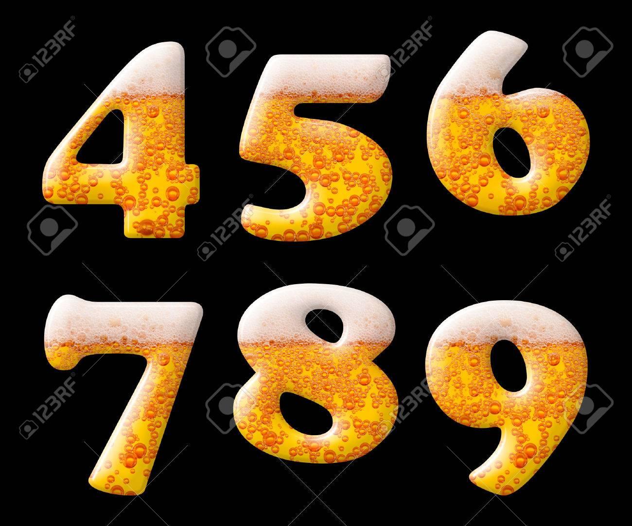 Door Numbers Brass Door Numerals In Polished Brass 1, 2, 3, 4, 5 ...