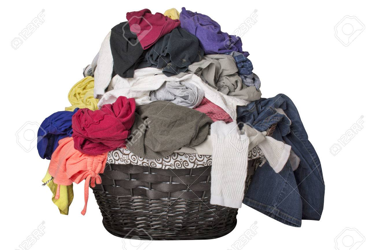 Image result for laundry basket over flowing