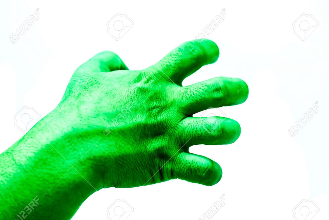 [Image: 46168252-isolate-hulk-fist-on-white-background.jpg]