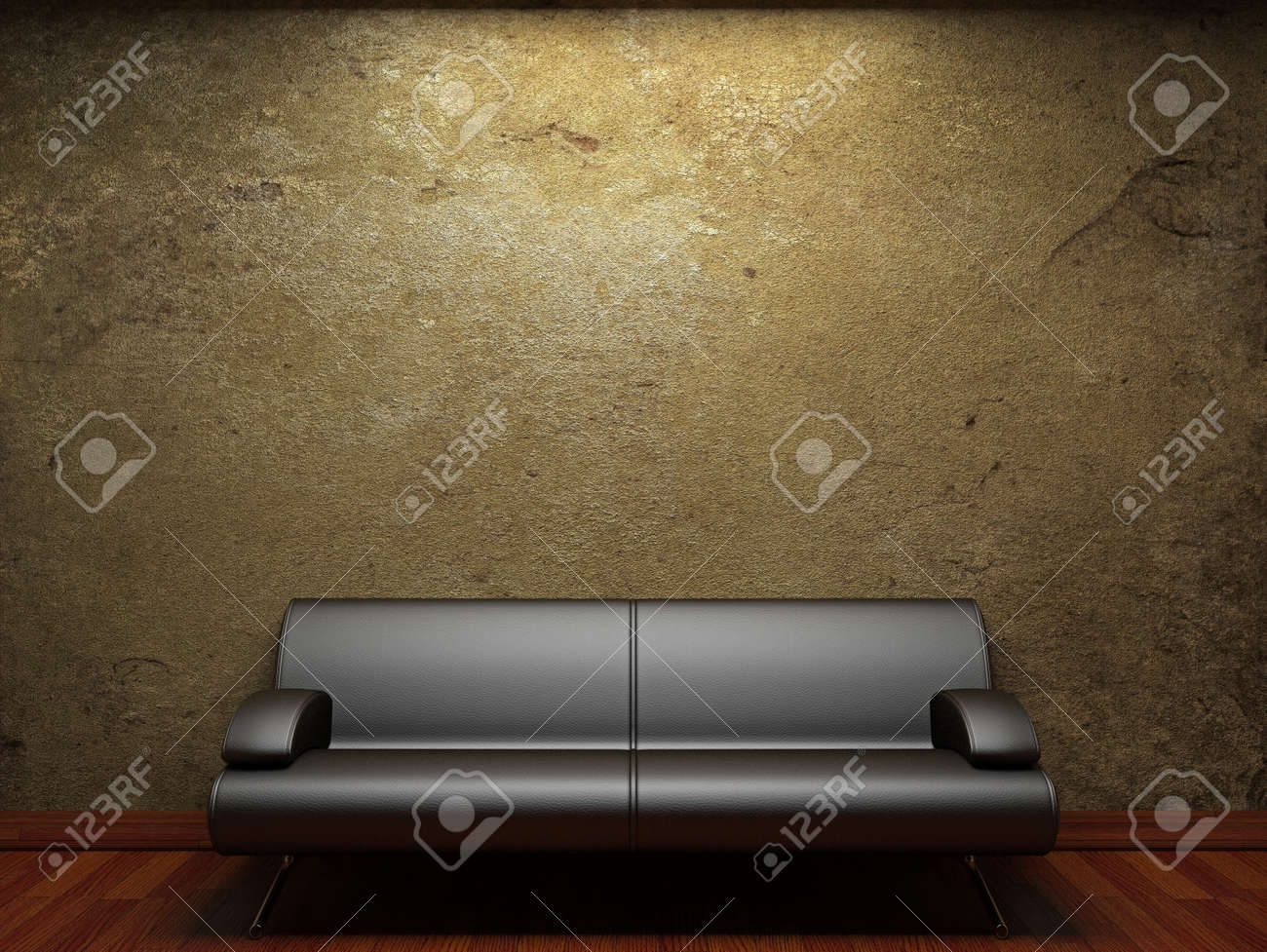 old concrete wall and sofa Stock Photo - 6574235