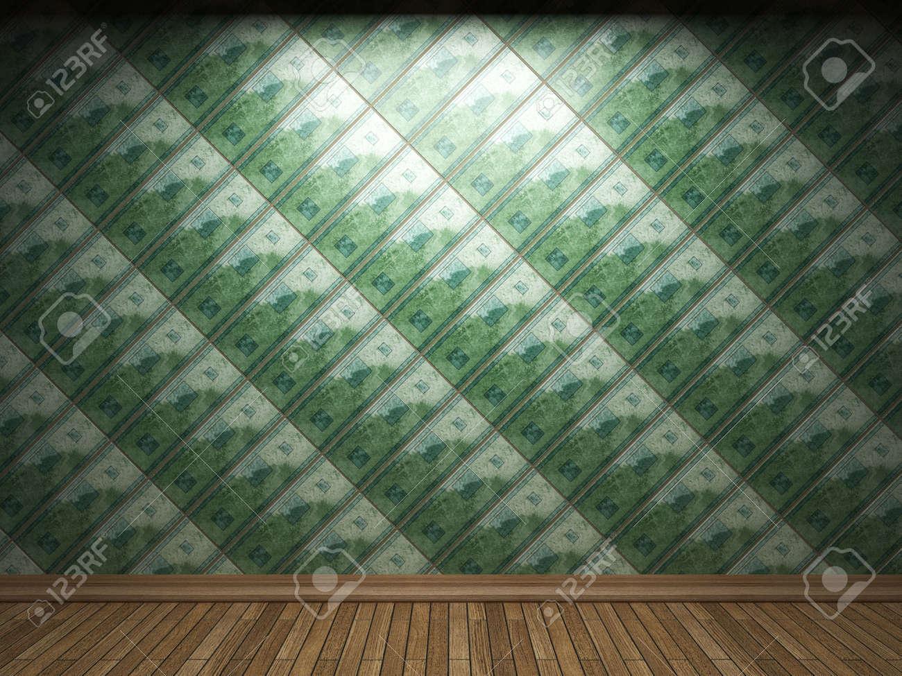 illuminated tile wall Stock Photo - 6693006