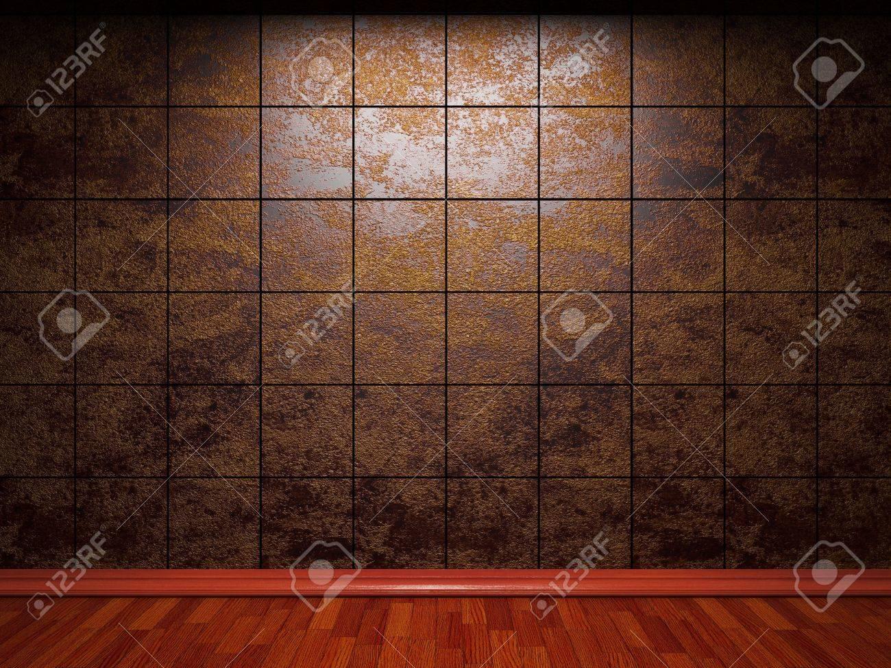 illuminated tile wall Stock Photo - 6759386