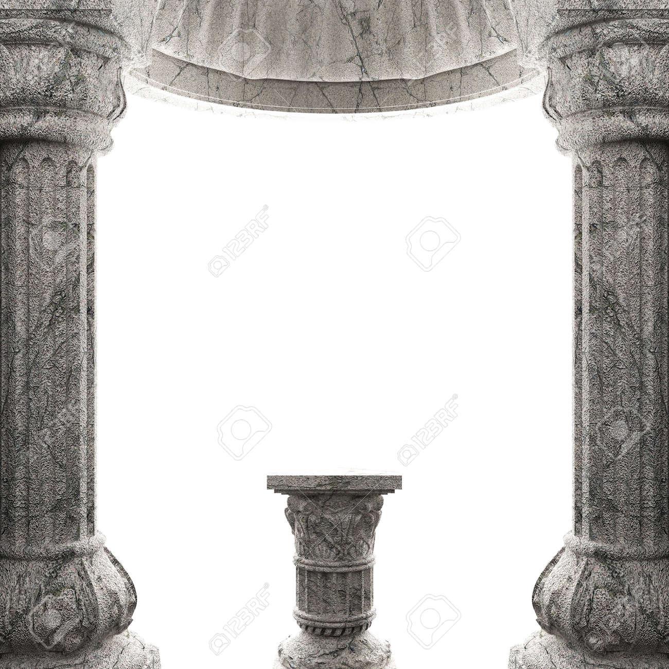 stone column Stock Photo - 6832380