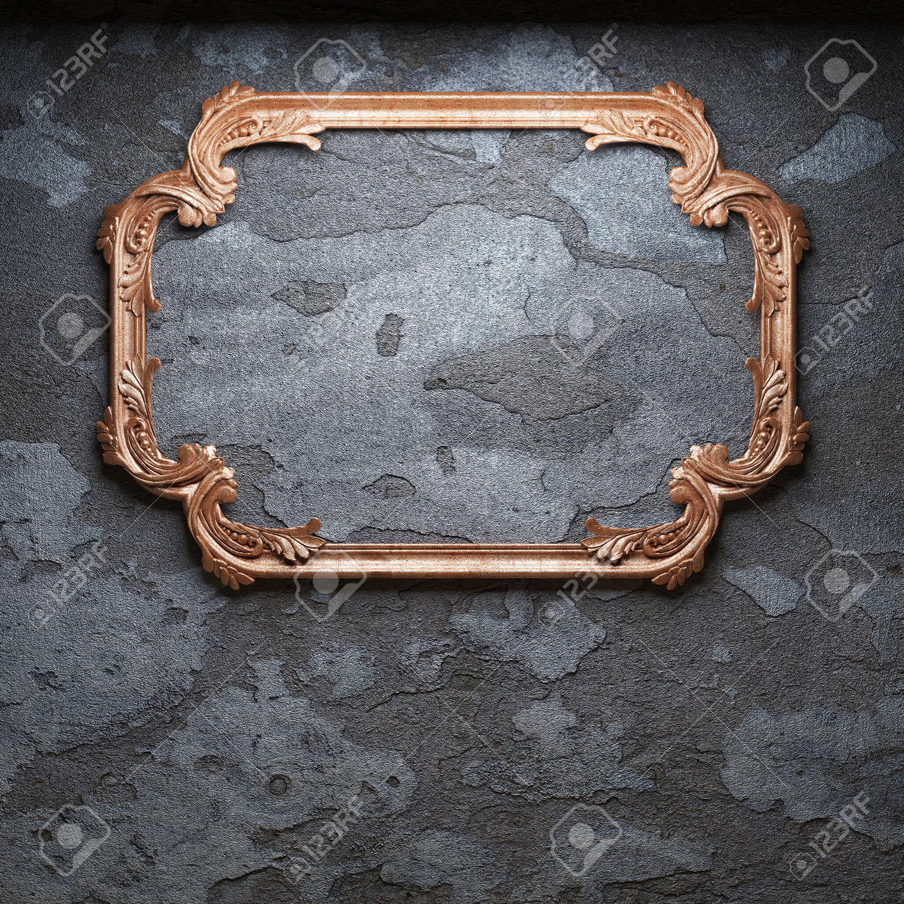 old concrete wall and frame Stock Photo - 6871387