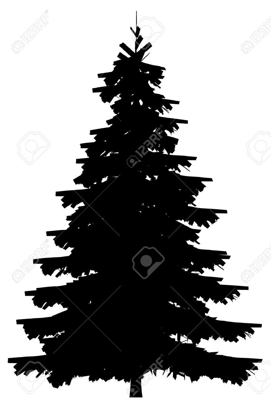 19,430 Pine Tree Silhouette Stock Vector Illustration And Royalty ...