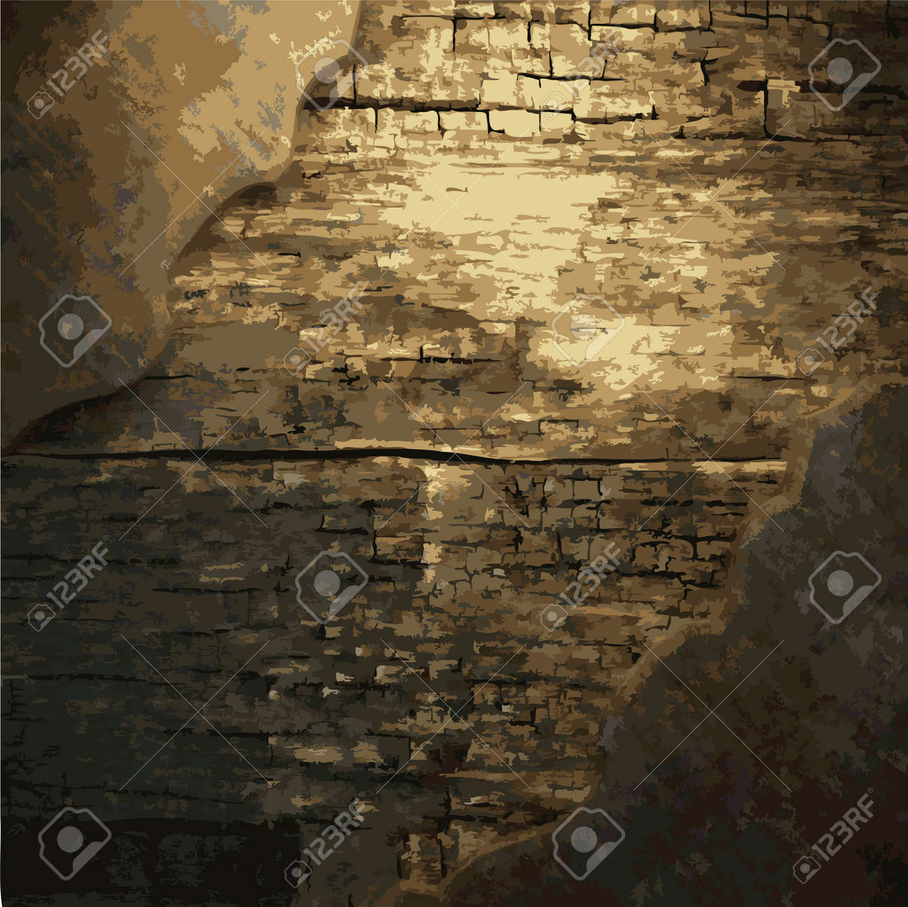 rusty metal and wood plate made in Vector Stock Vector - 8591541