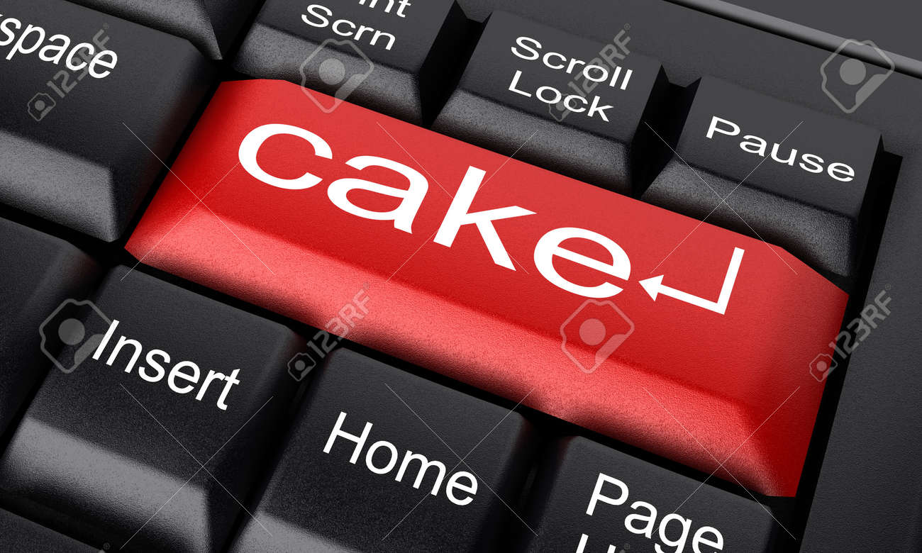 Word on keyboard made in 3D Stock Photo - 11731044