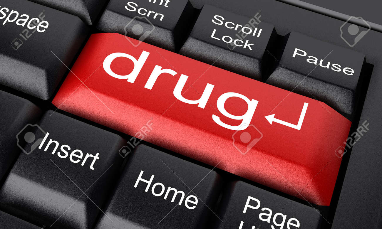 Word on keyboard made in 3D Stock Photo - 11732324