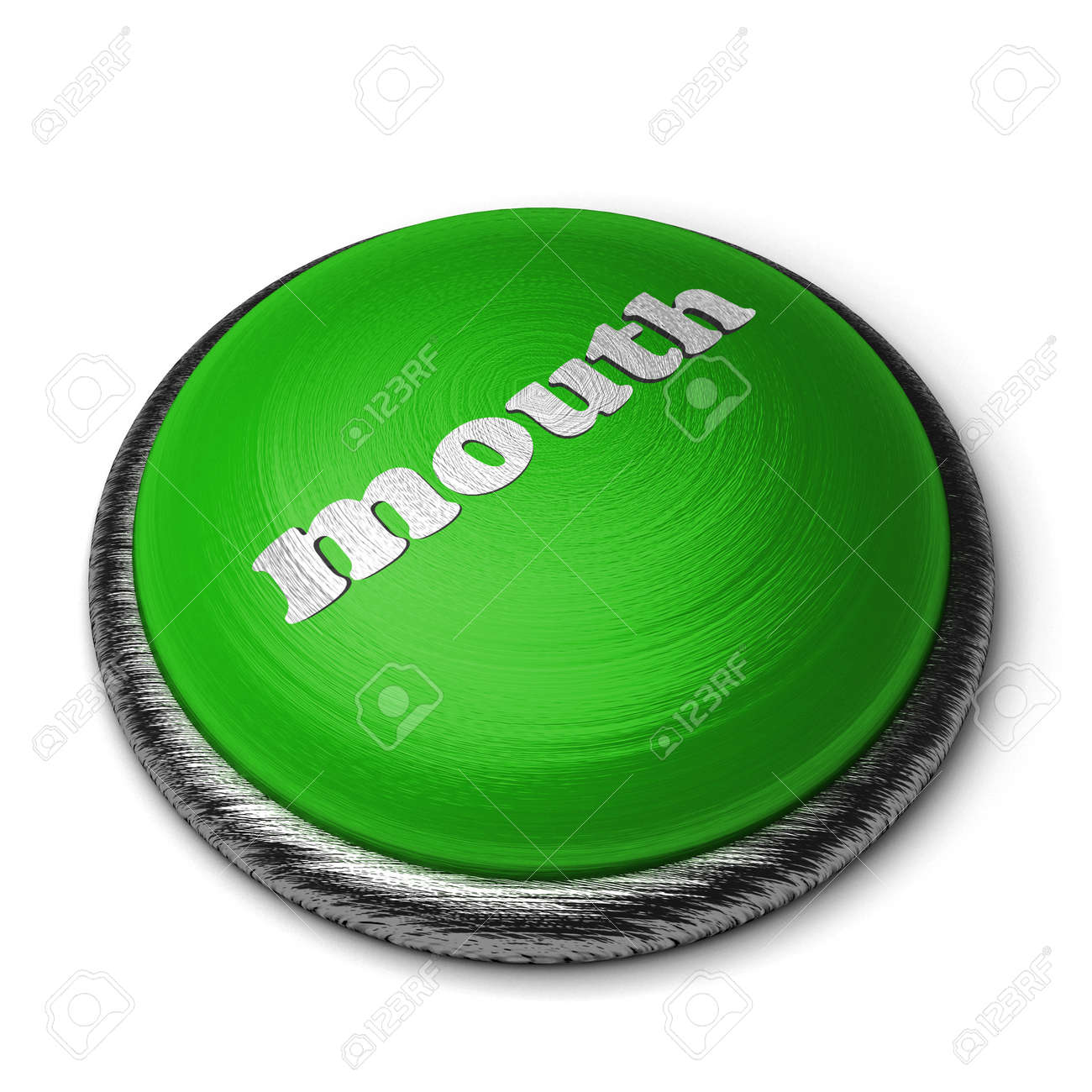 Word on the button Stock Photo - 11856045