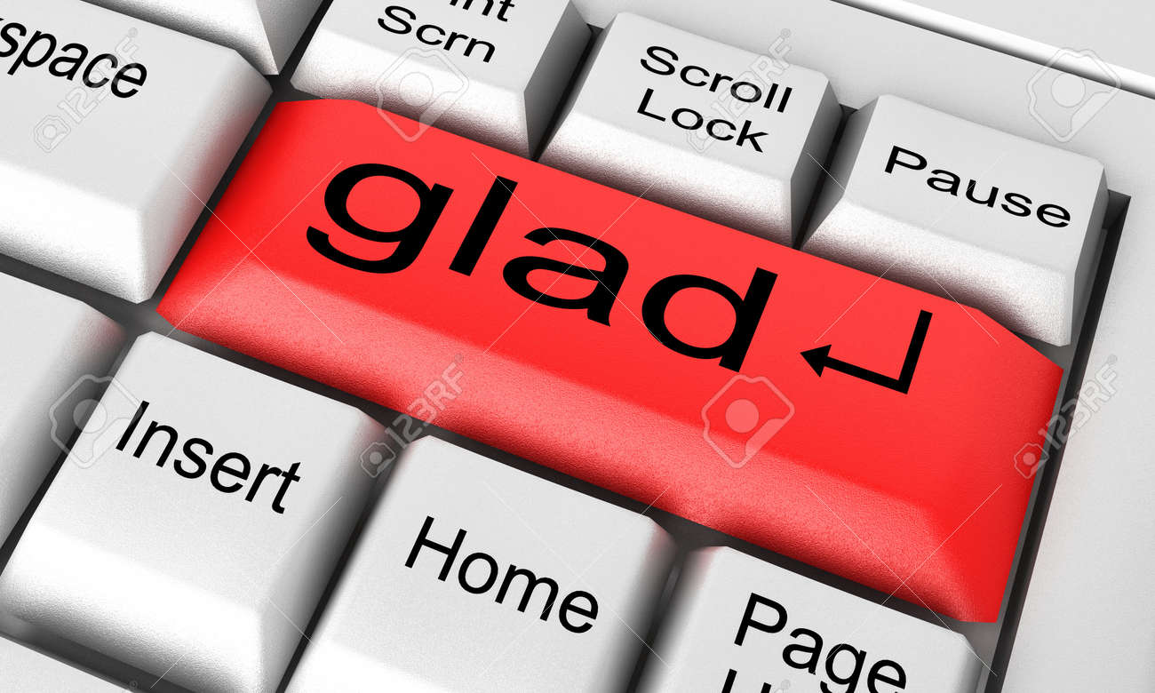 Word on keyboard made in 3D Stock Photo - 12687697