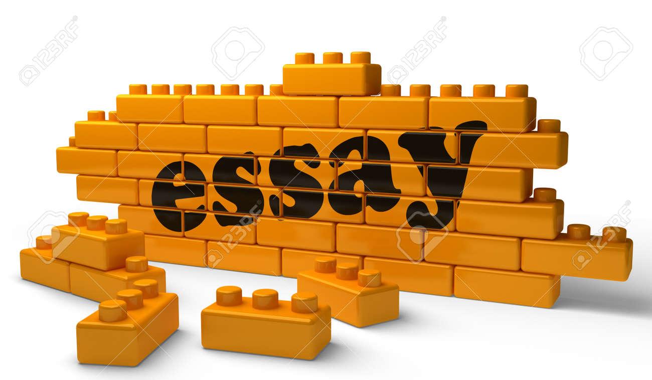 Word on yellow wall Stock Photo - 15358389
