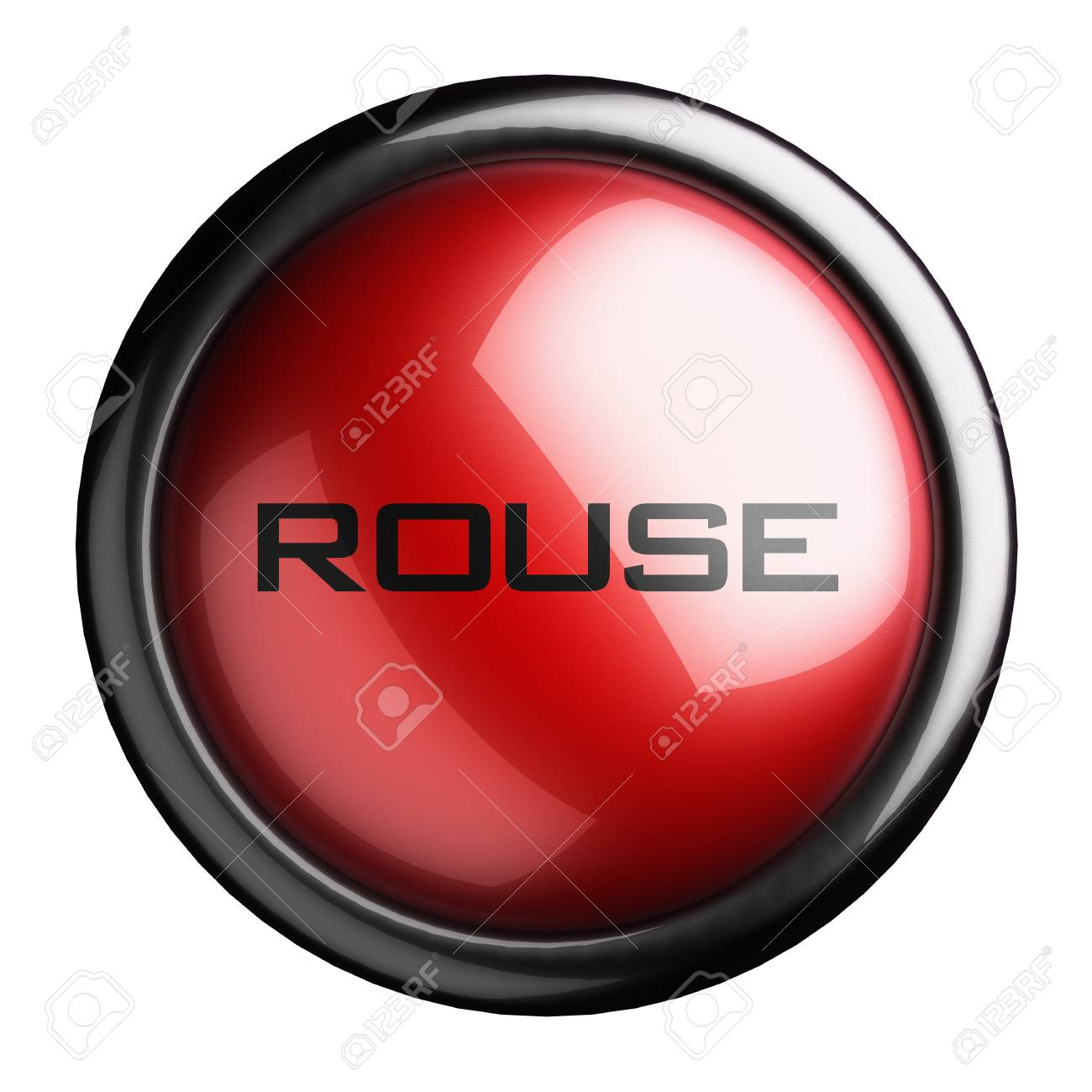 Word on the button Stock Photo - 15617441
