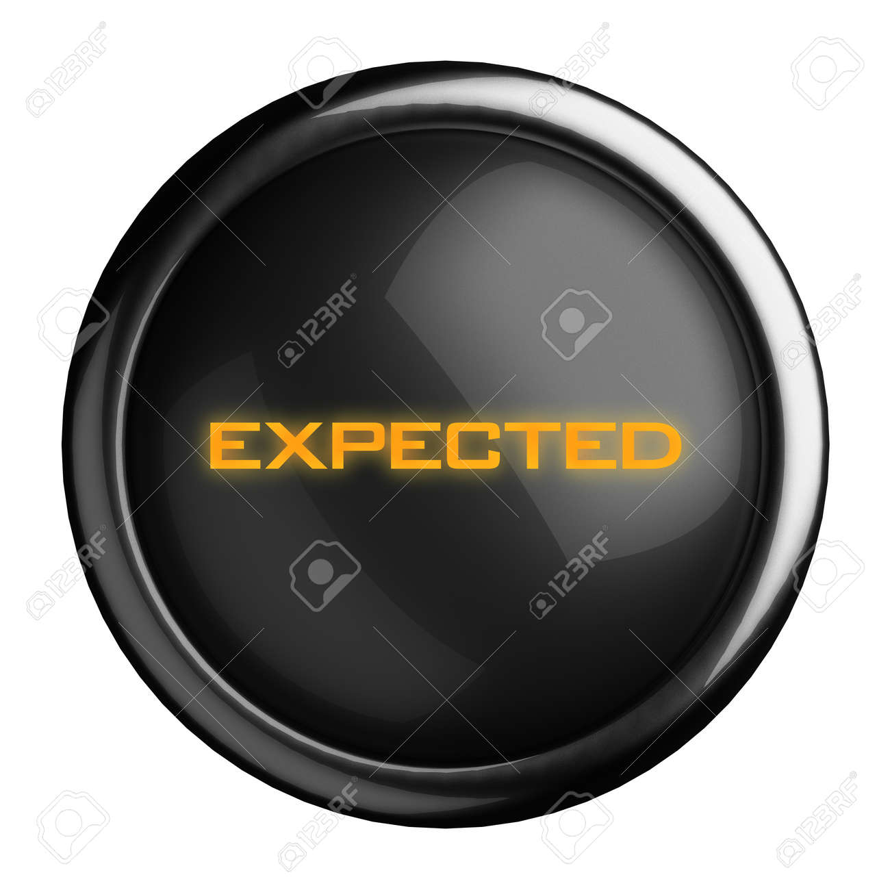 Word on black button Stock Photo - 15711822