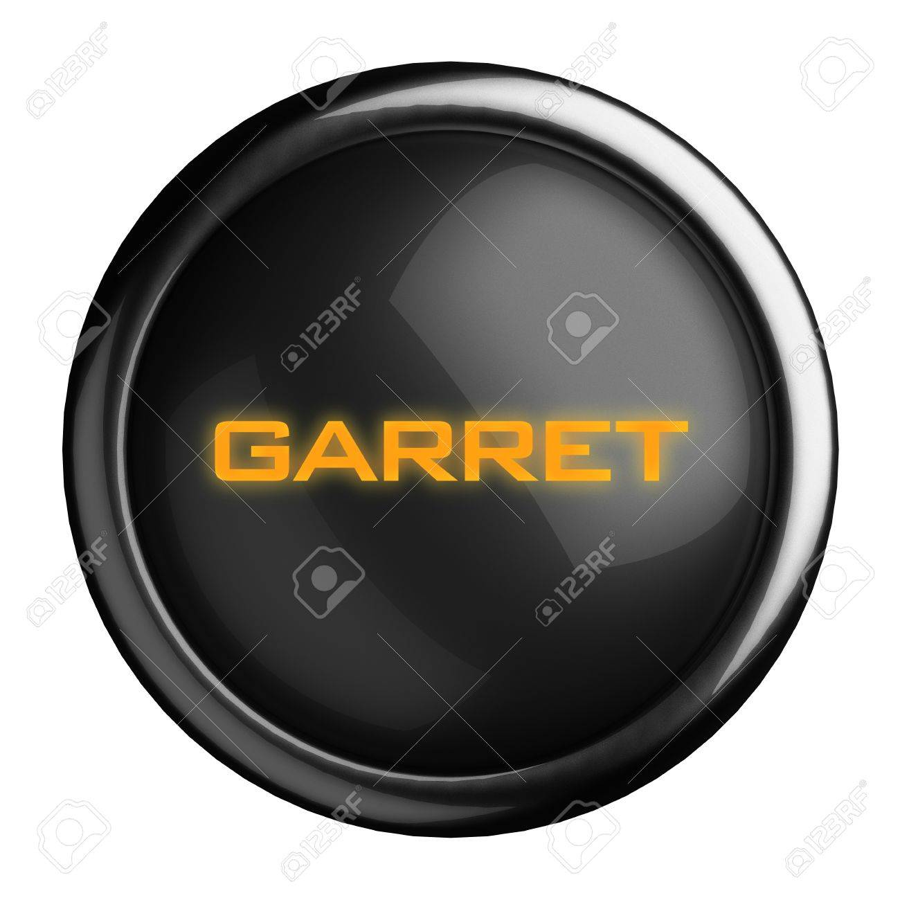 Word on black button Stock Photo - 15703541