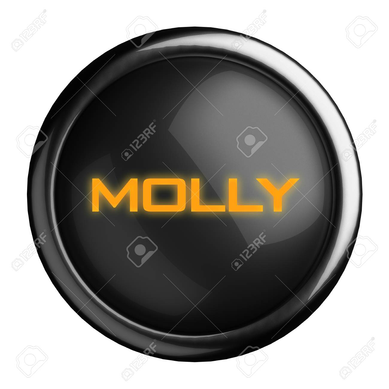 Word on black button Stock Photo - 15696185