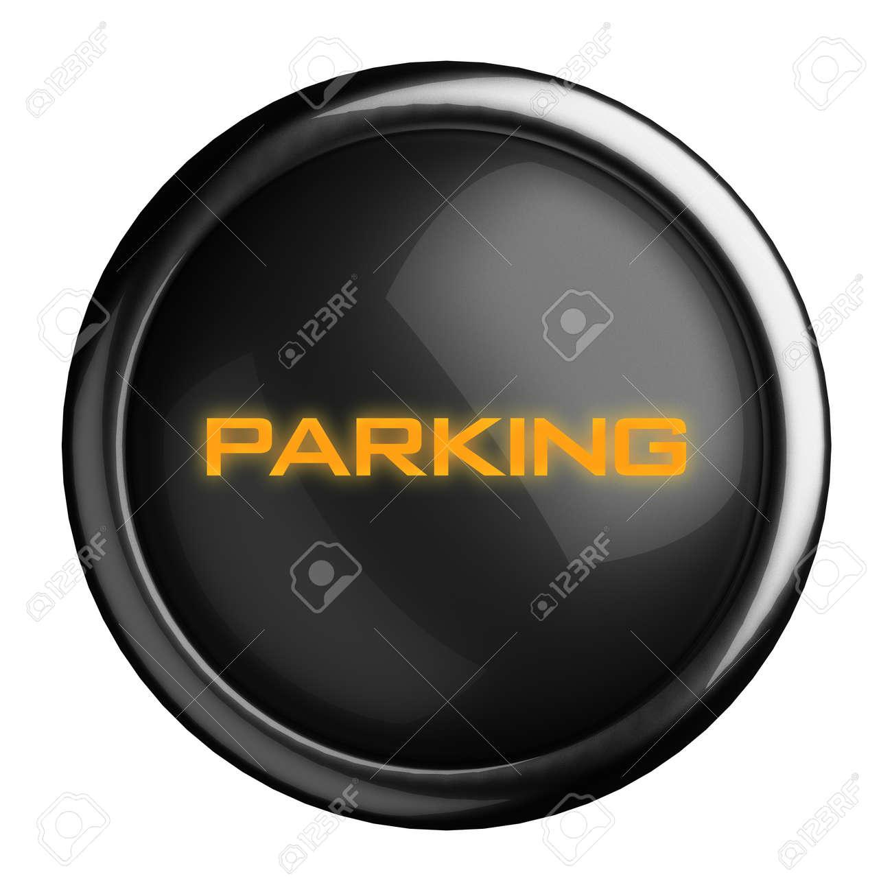 Word on black button Stock Photo - 15696433
