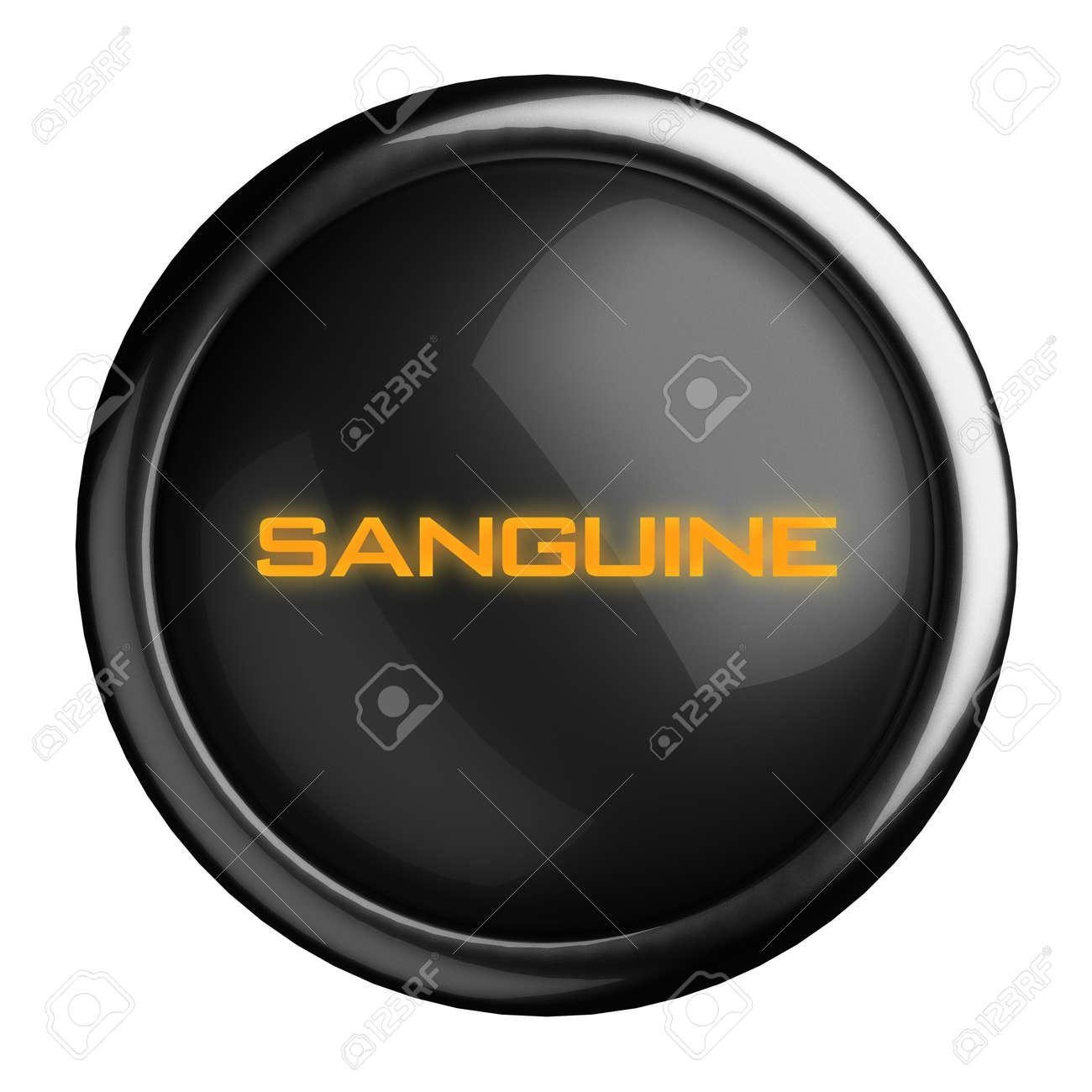 Word on black button Stock Photo - 15709294