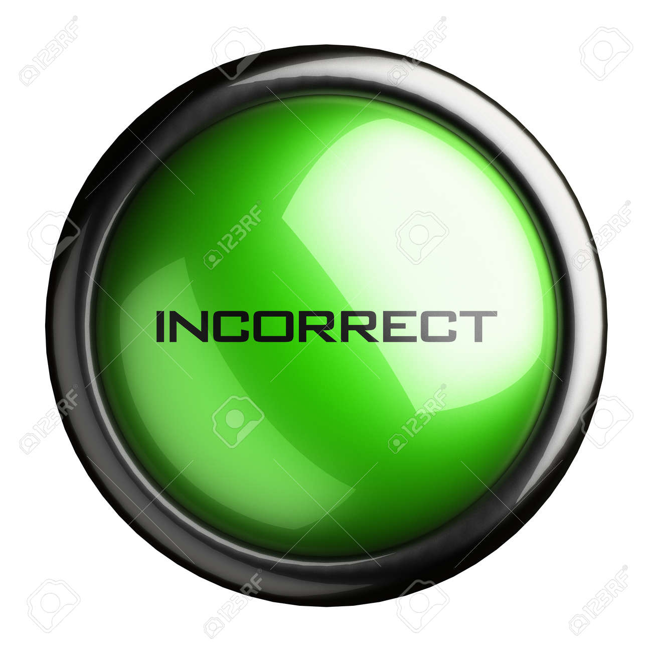 Word on the button Stock Photo - 16396700