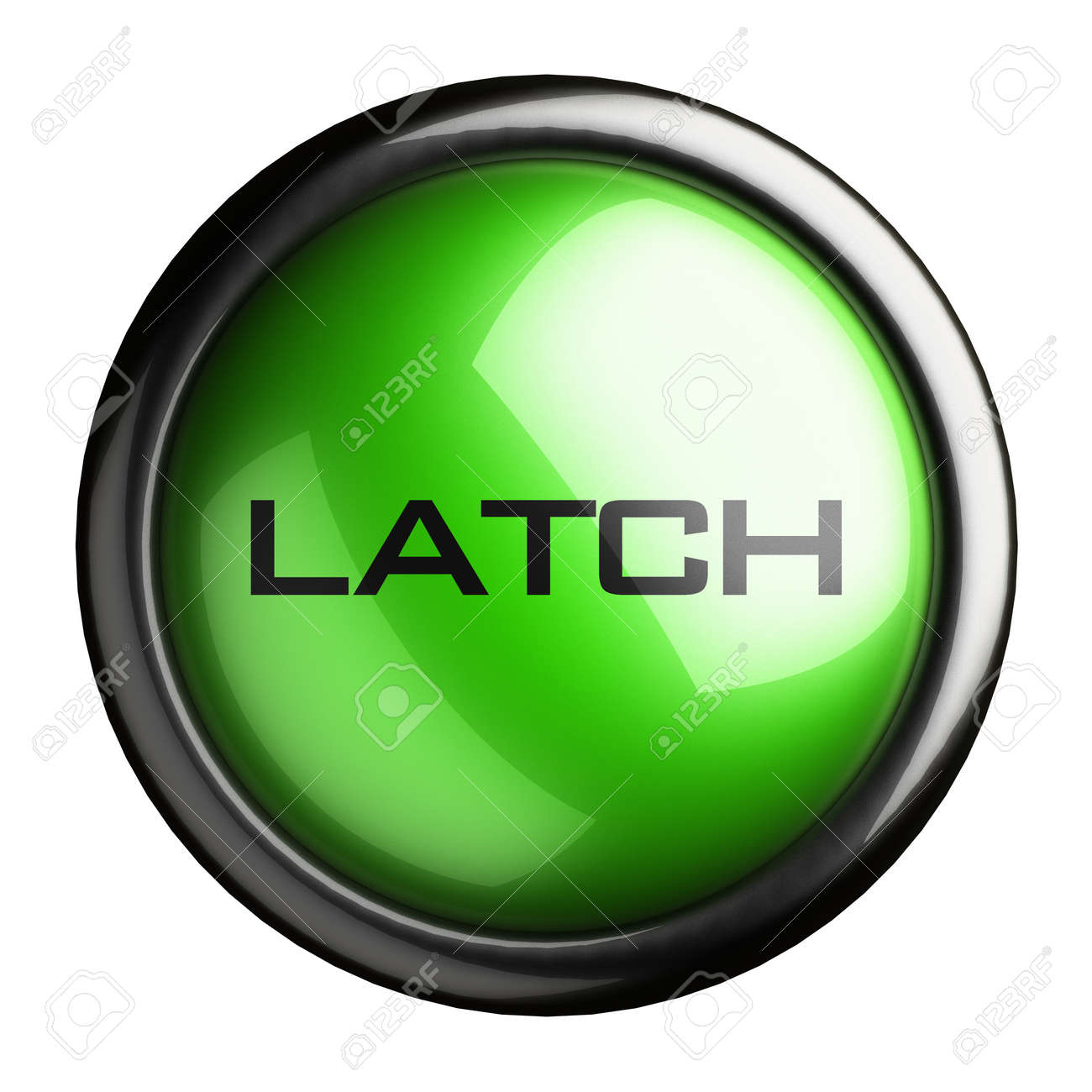 Word on the button Stock Photo - 16399709