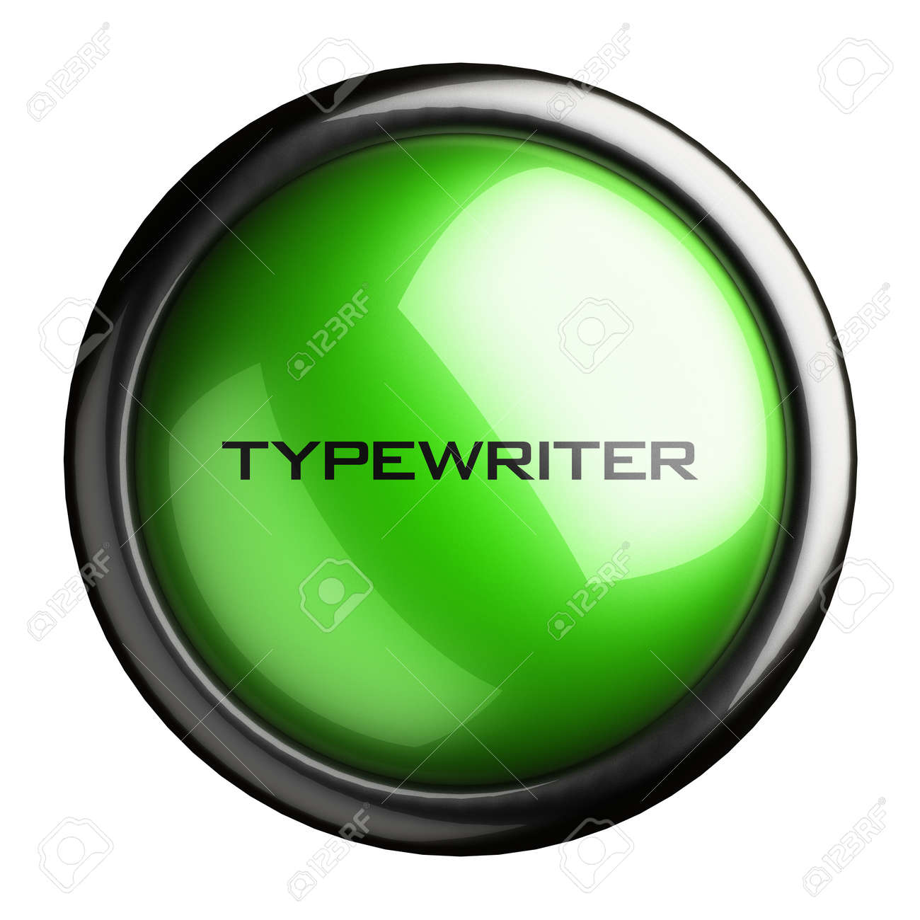 Word on the button Stock Photo - 16611542