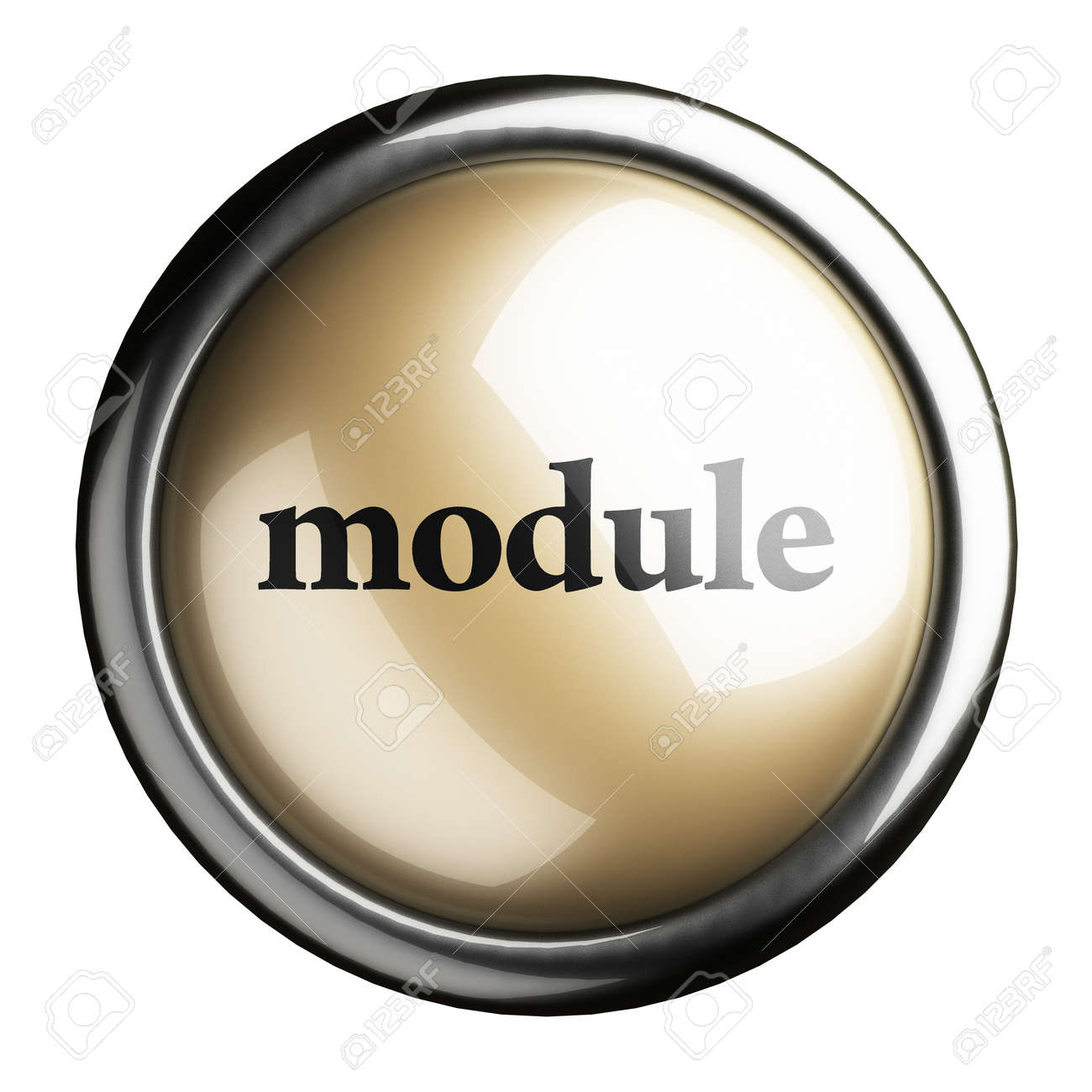 Word on the button Stock Photo - 17704211