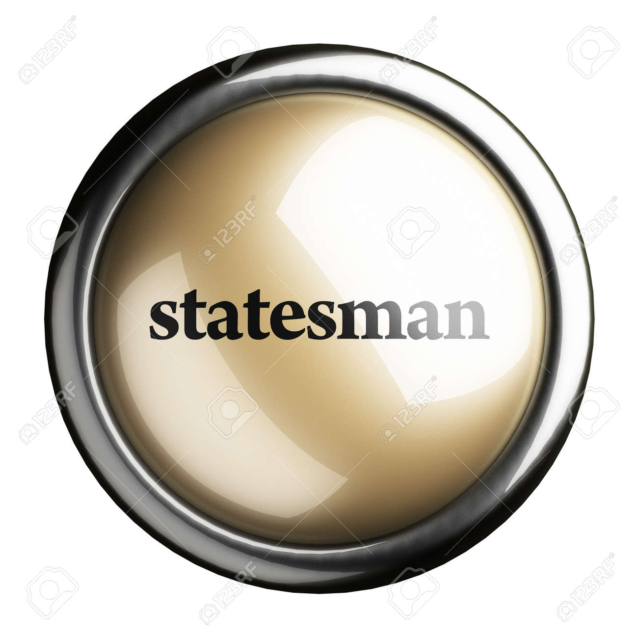Word on the button Stock Photo - 17746926
