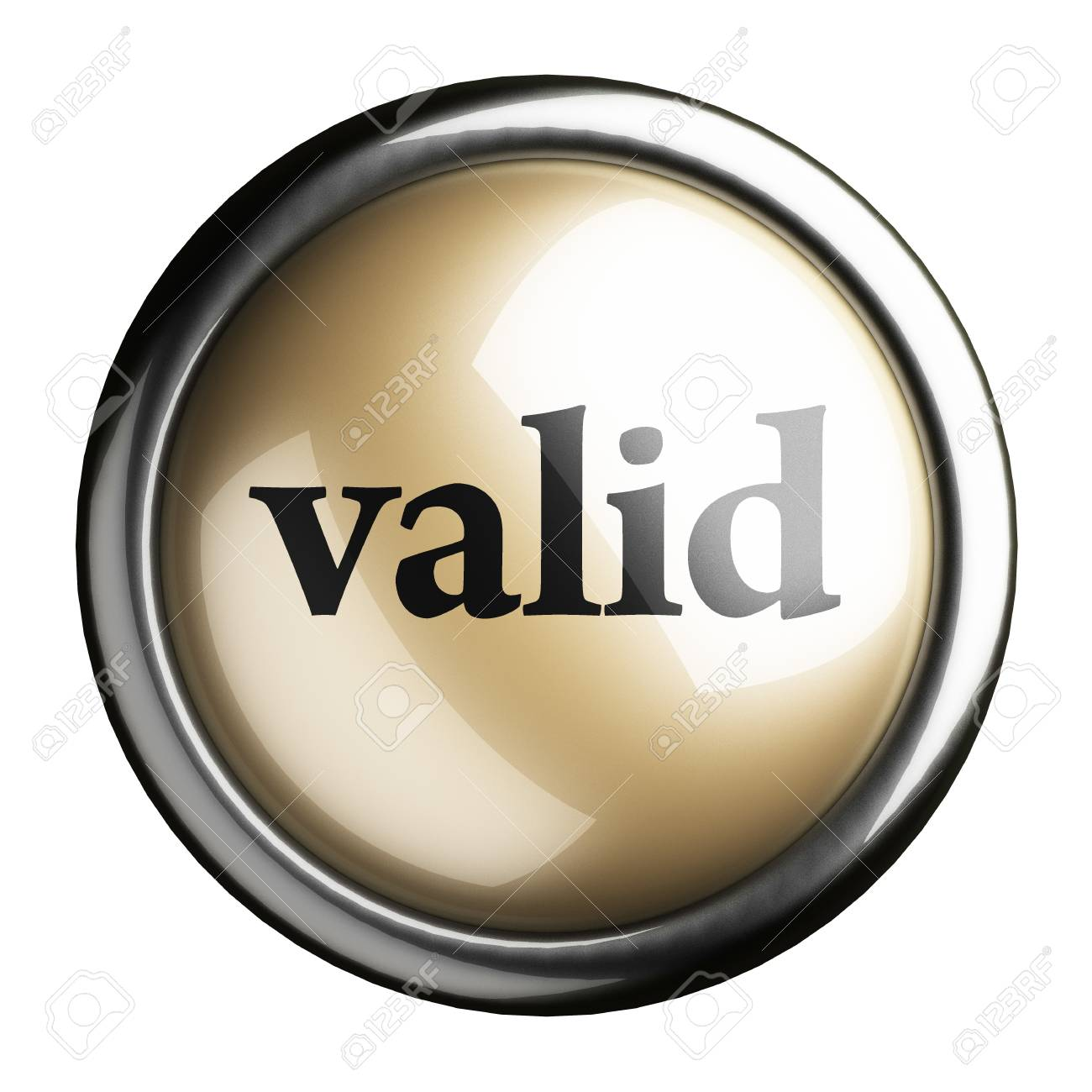Word on the button Stock Photo - 17748045