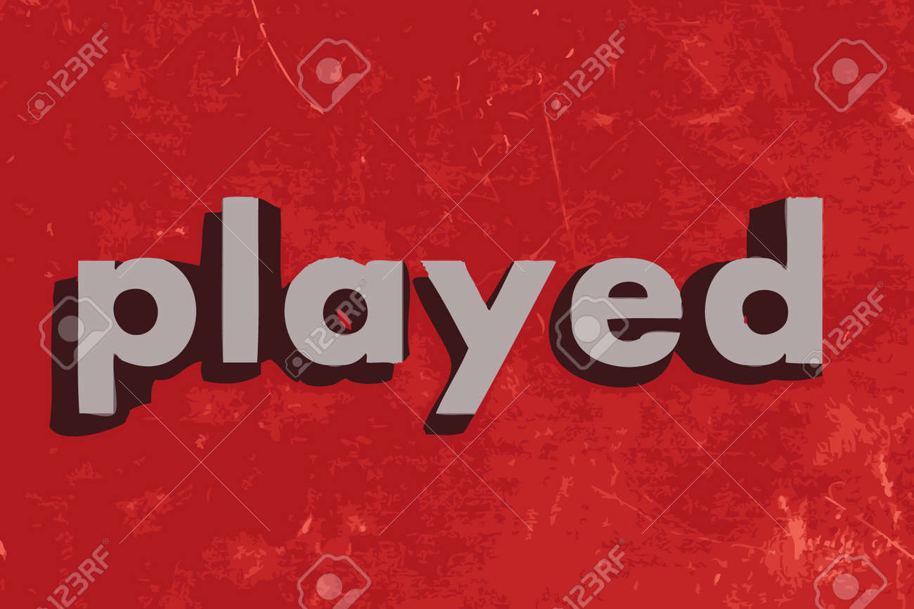 Image result for played word