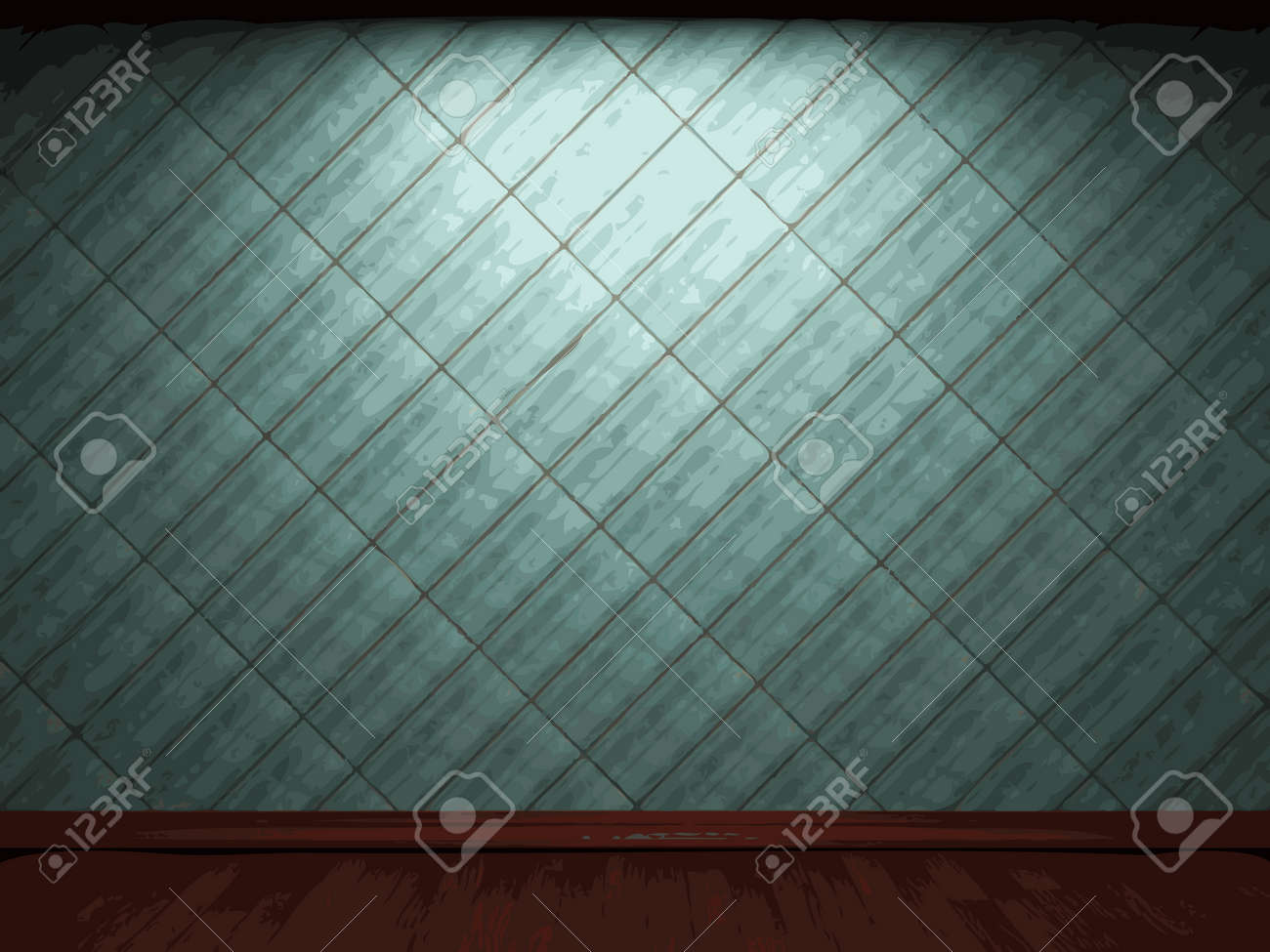 Vector Illuminated Tile Wall Background Royalty Free Cliparts ...