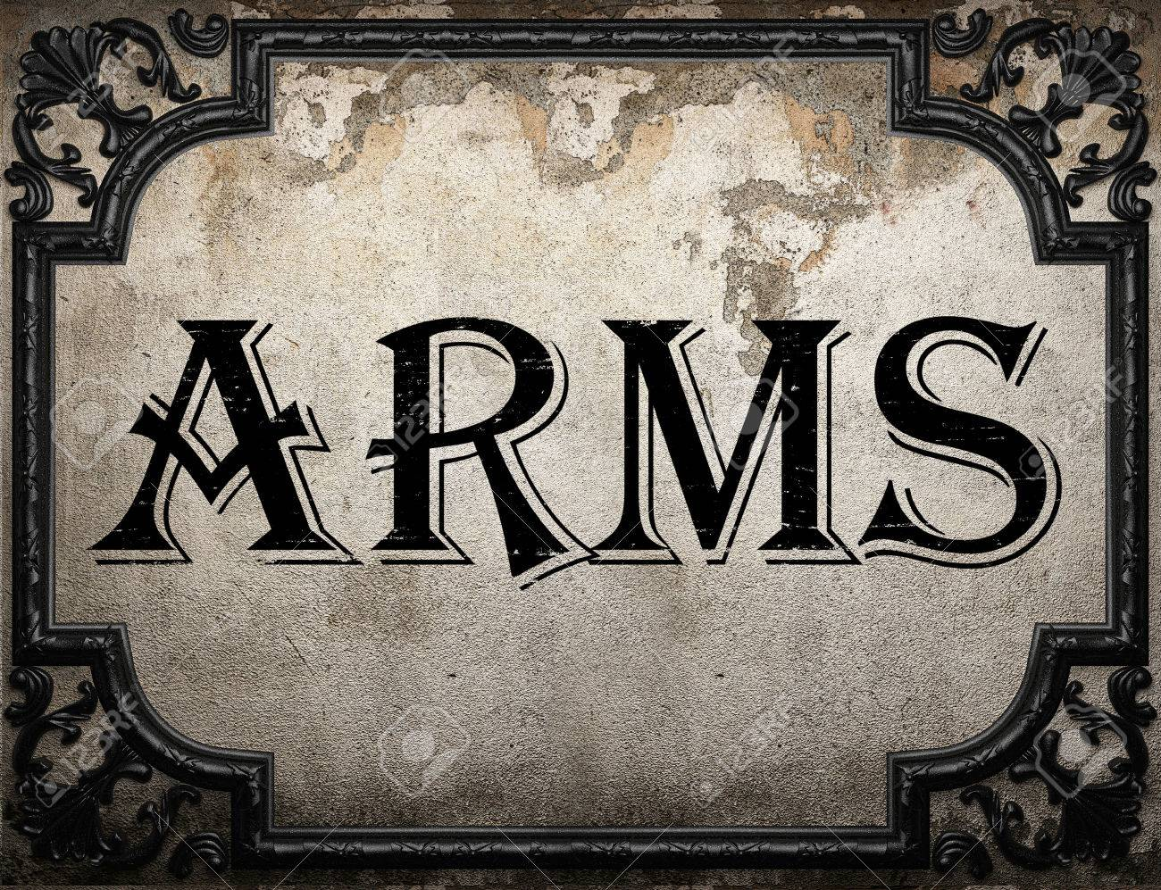 Image result for arms word