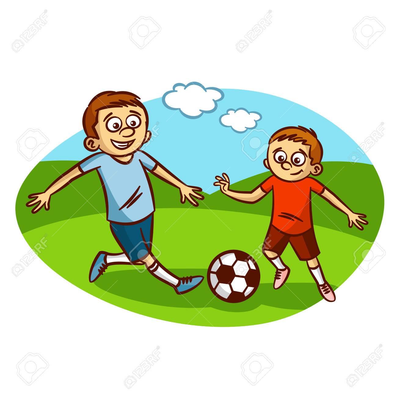 papa et fils jouer au football clipart clip art libres de droits rh fr 123rf com ou football clipart lion football clipart