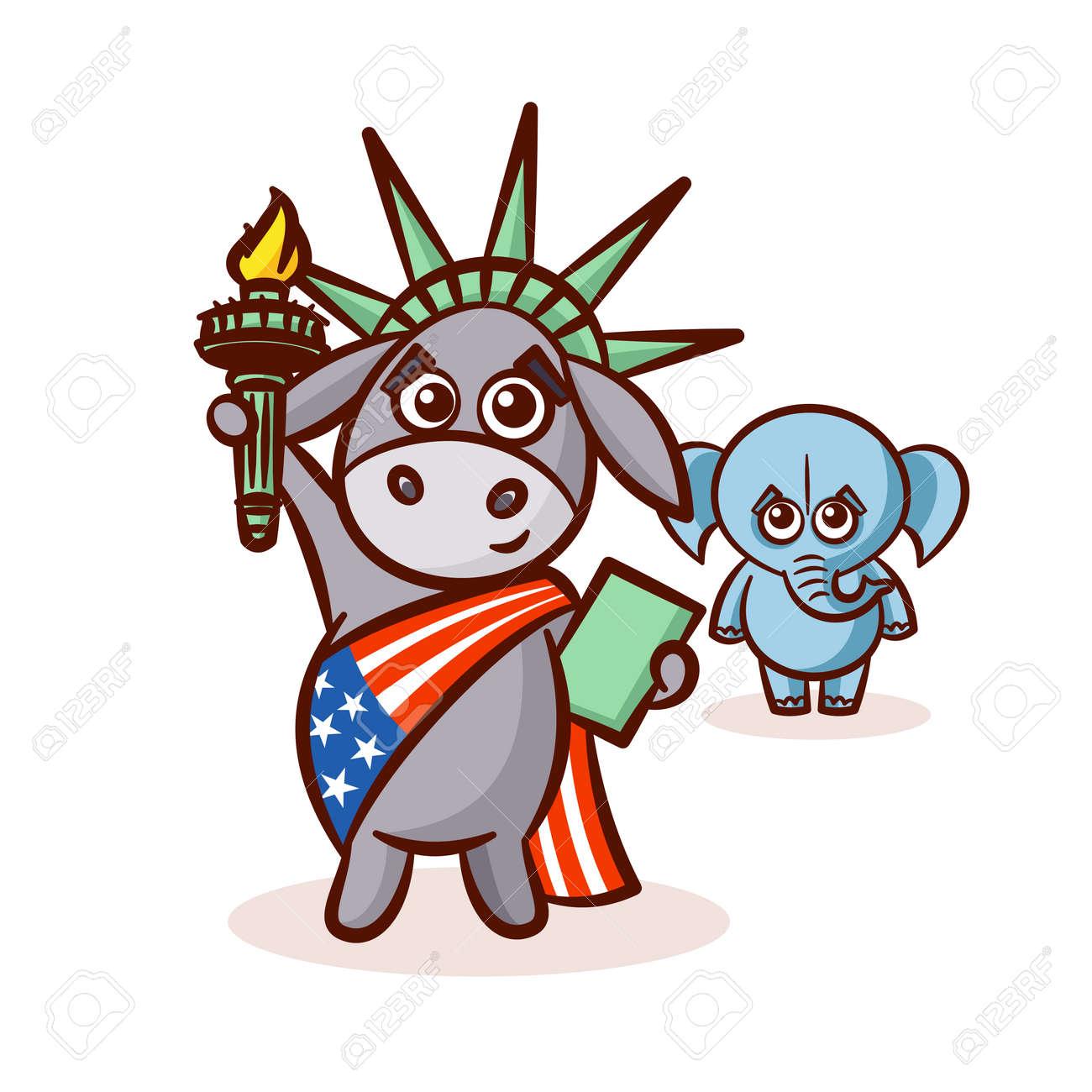 Elephant and donkey symbols of democrats and republicans symbols of democrats and republicans political parties in united states buycottarizona