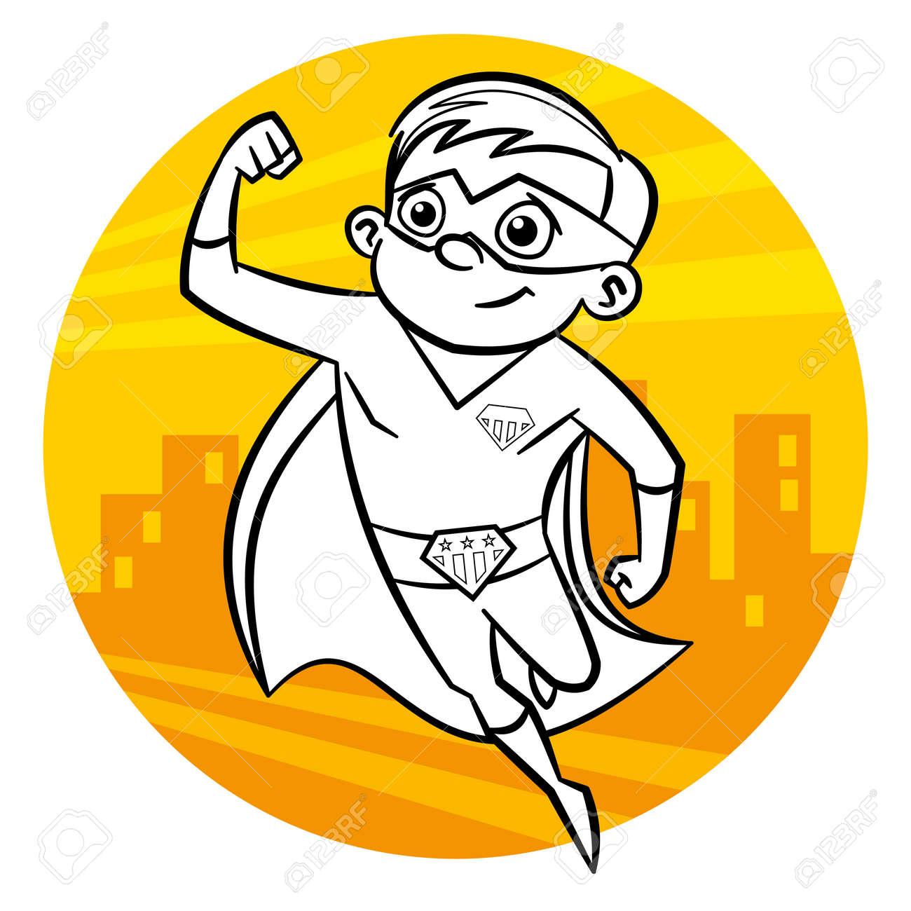 Ungewöhnlich Super Hero Kader Mädchen Zeichen Malvorlagen Ideen ...