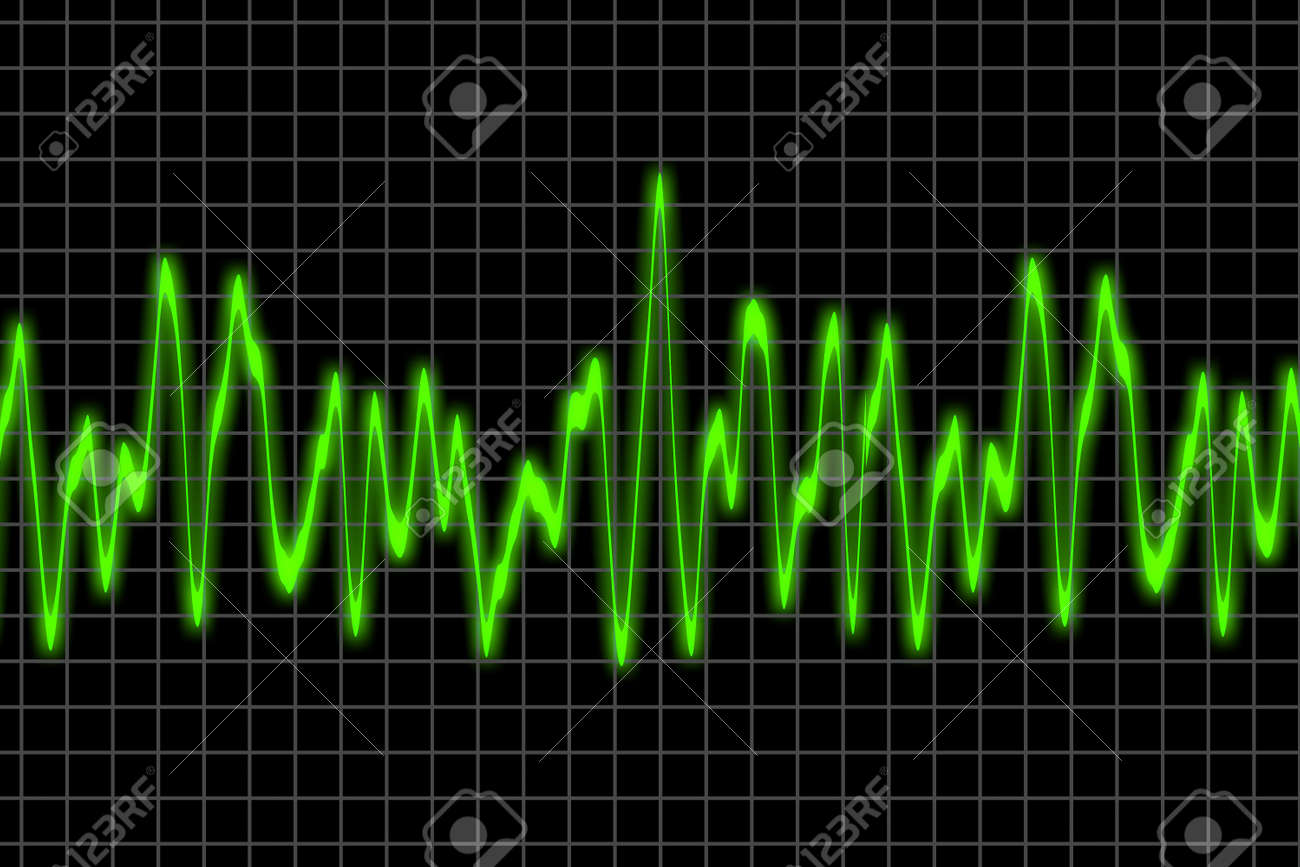 Electromagnetic wave chart Stock Photo - 1779492
