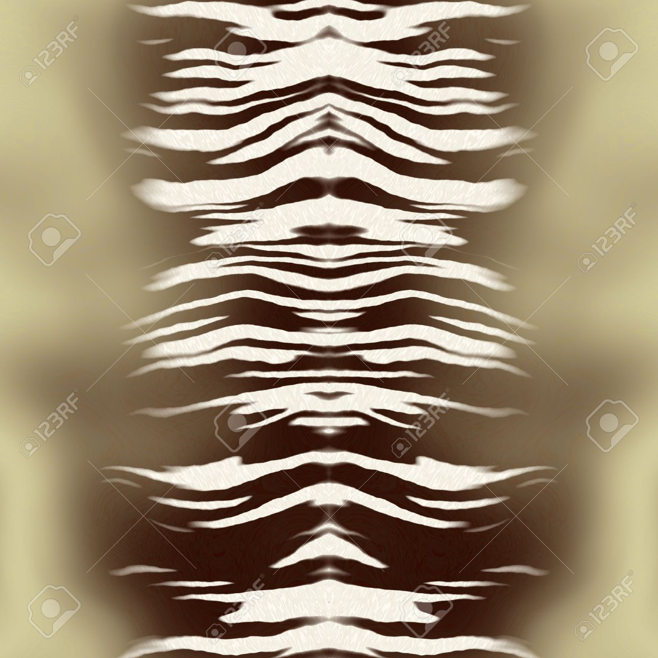 Rug from white tiger skin Stock Photo - 1756049