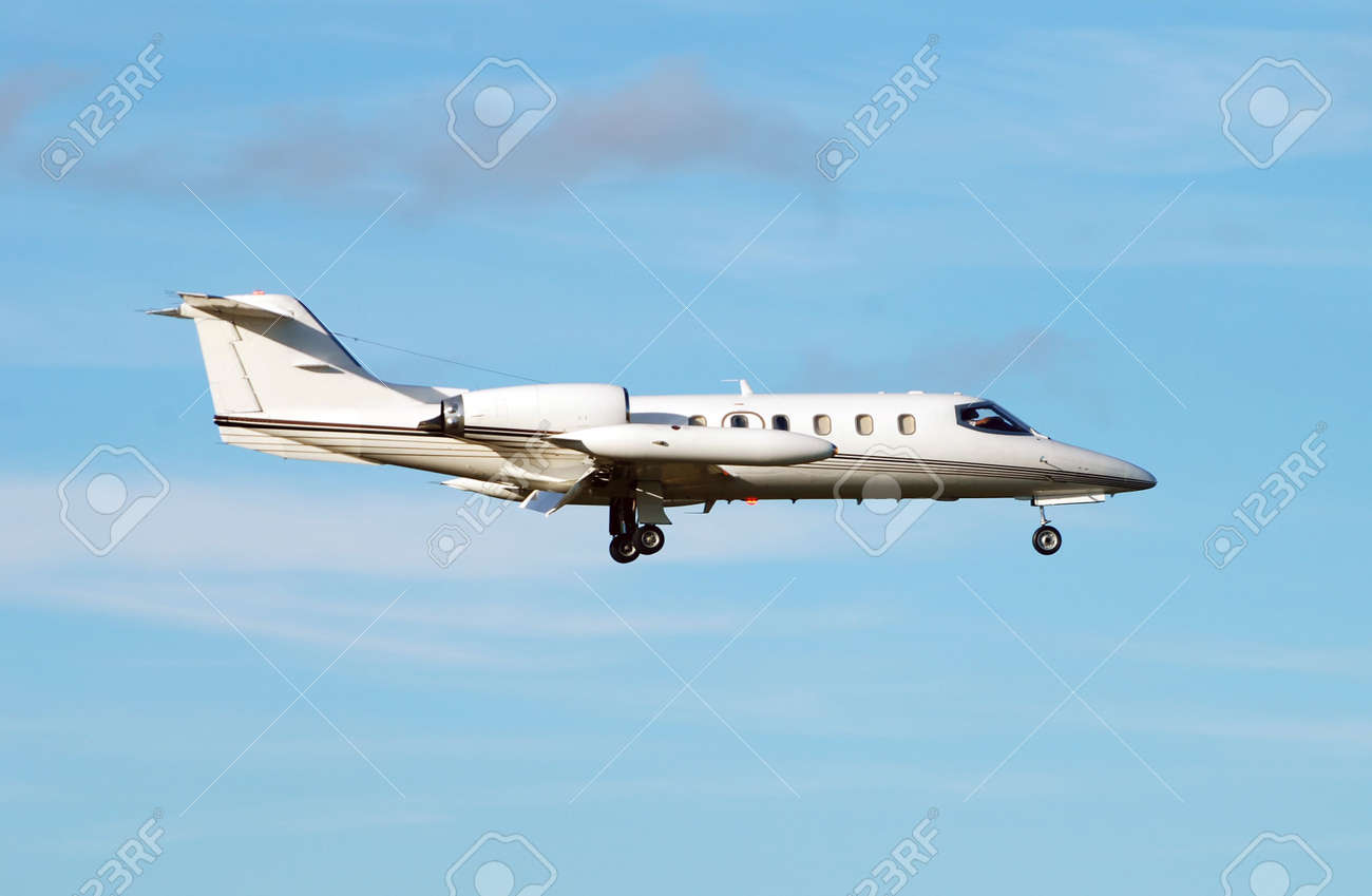 Business jet airplane Stock Photo - 2336231