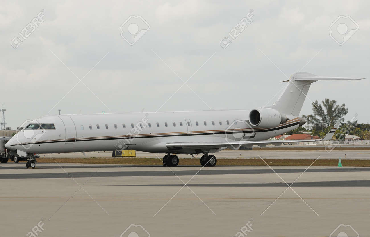 Luxury private jet for business travel Stock Photo - 4424759