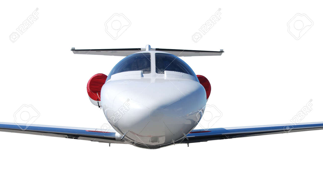 isolated jet airplane Stock Photo - 4632529