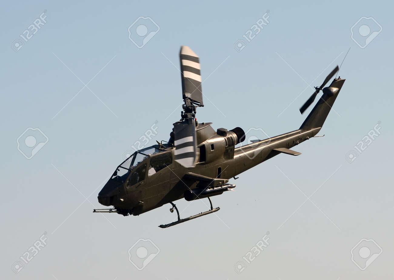 Vietnam War era helicopter in flight