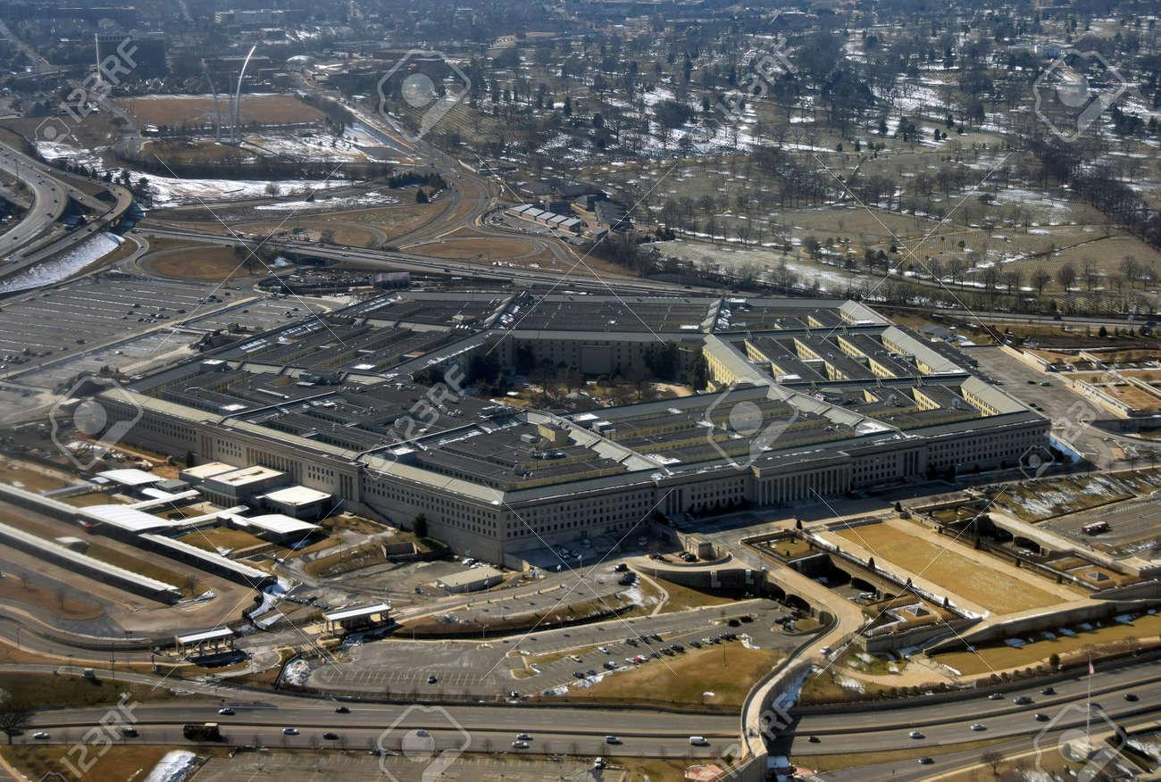 上から見た米国国防省 Petagon ...