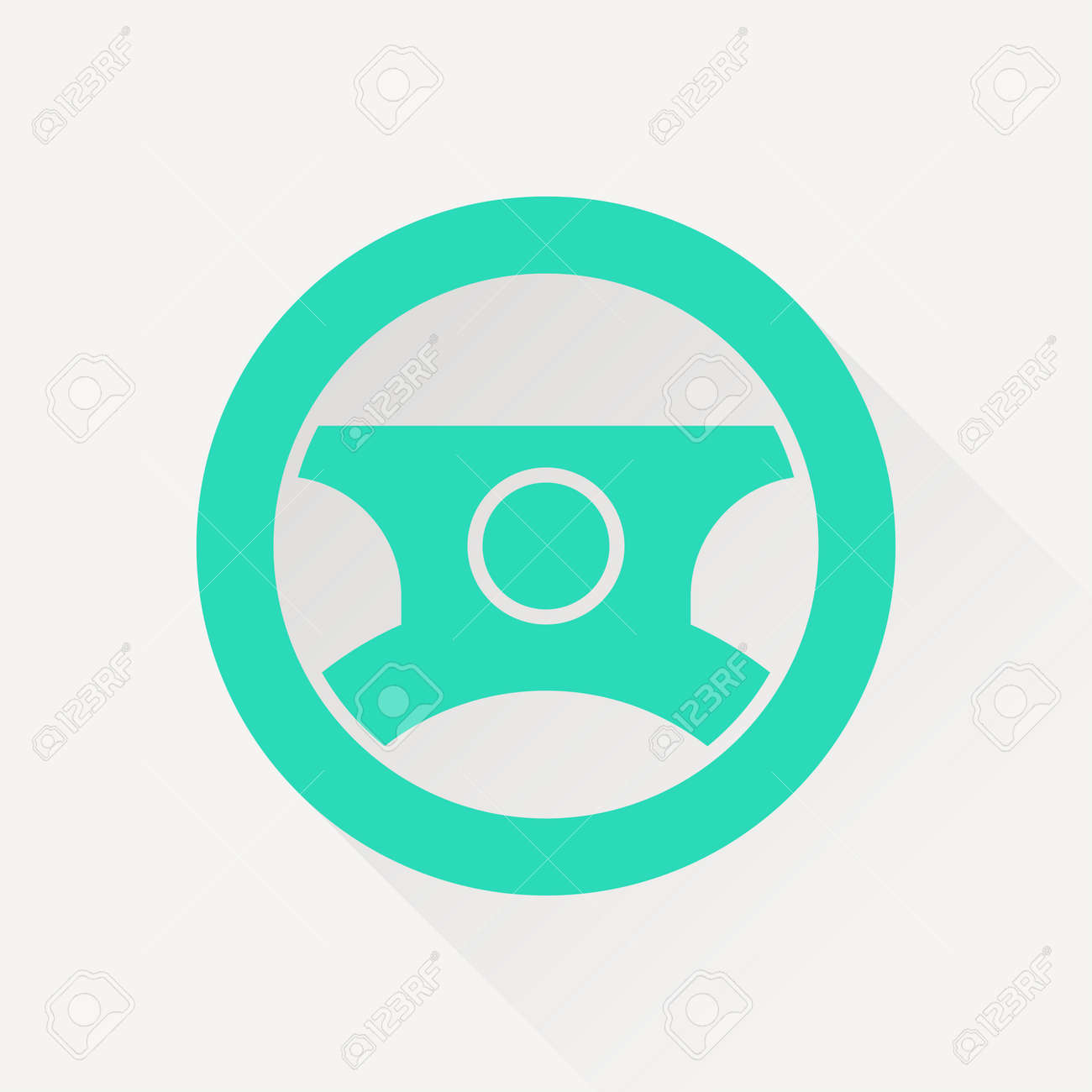 Car Steering Wheel Symbol Vector Hmi Dashboard Flat Icon Royalty - Car image sign of dashboardcar dashboard icons stock images royaltyfree imagesvectors