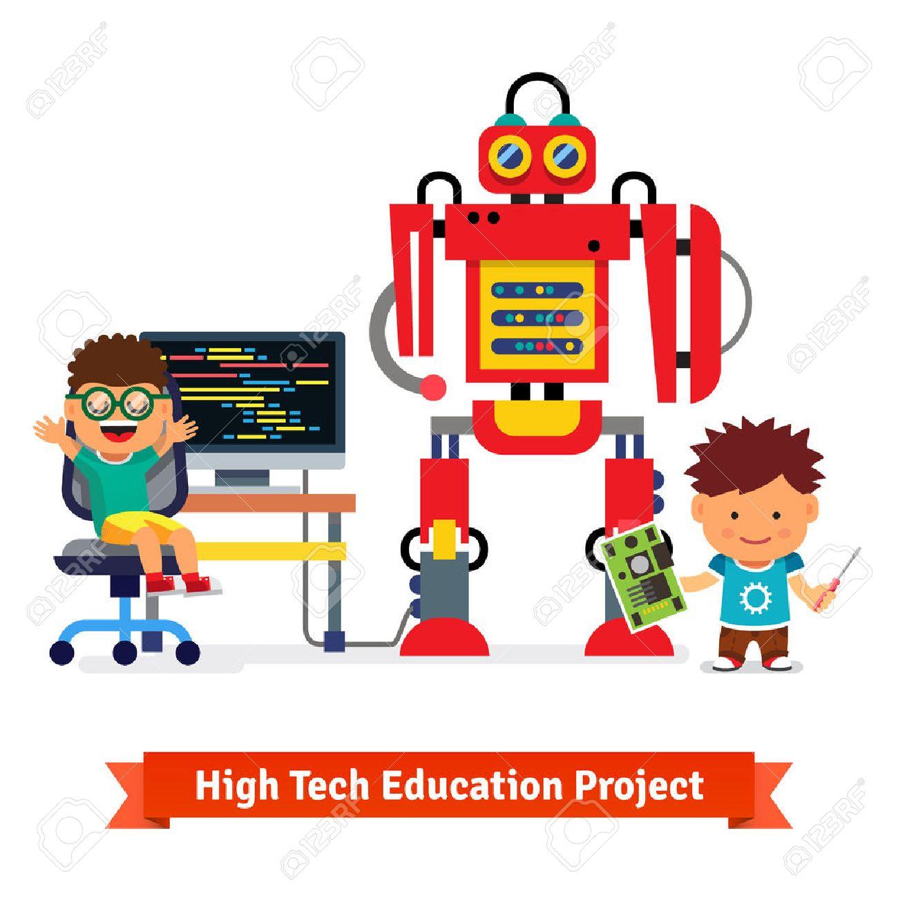 Kids Are Making And Programming Huge Robot Robotics Hardware