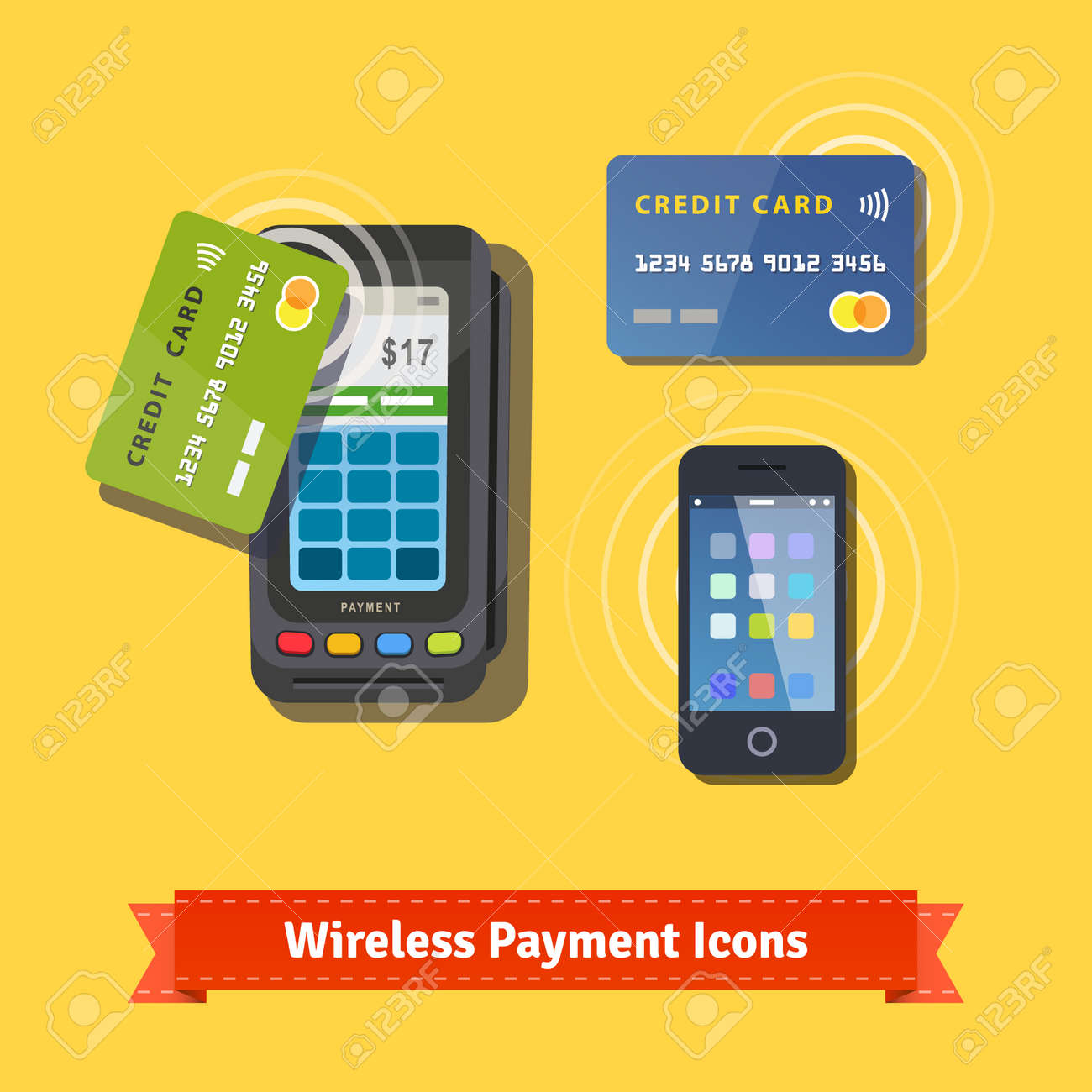 Credit card machines small business gallery free business cards credit card terminals for businesses choice image free business wireless business payment flat icon set wireless magicingreecefo Image collections