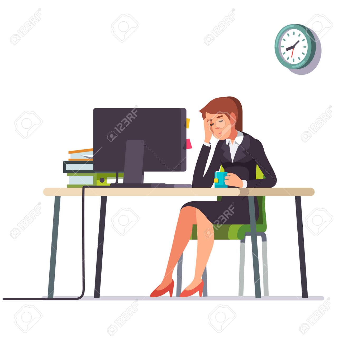 Job Woman - Female Accountant Accountant Clipart, HD Png Download - vhv