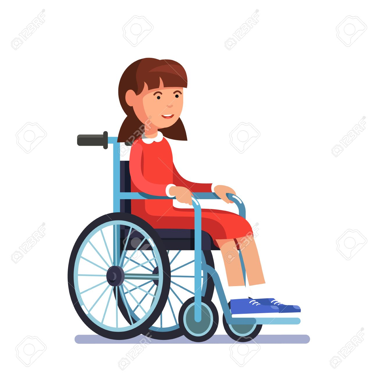 Image result for crippled child in a wheel chair