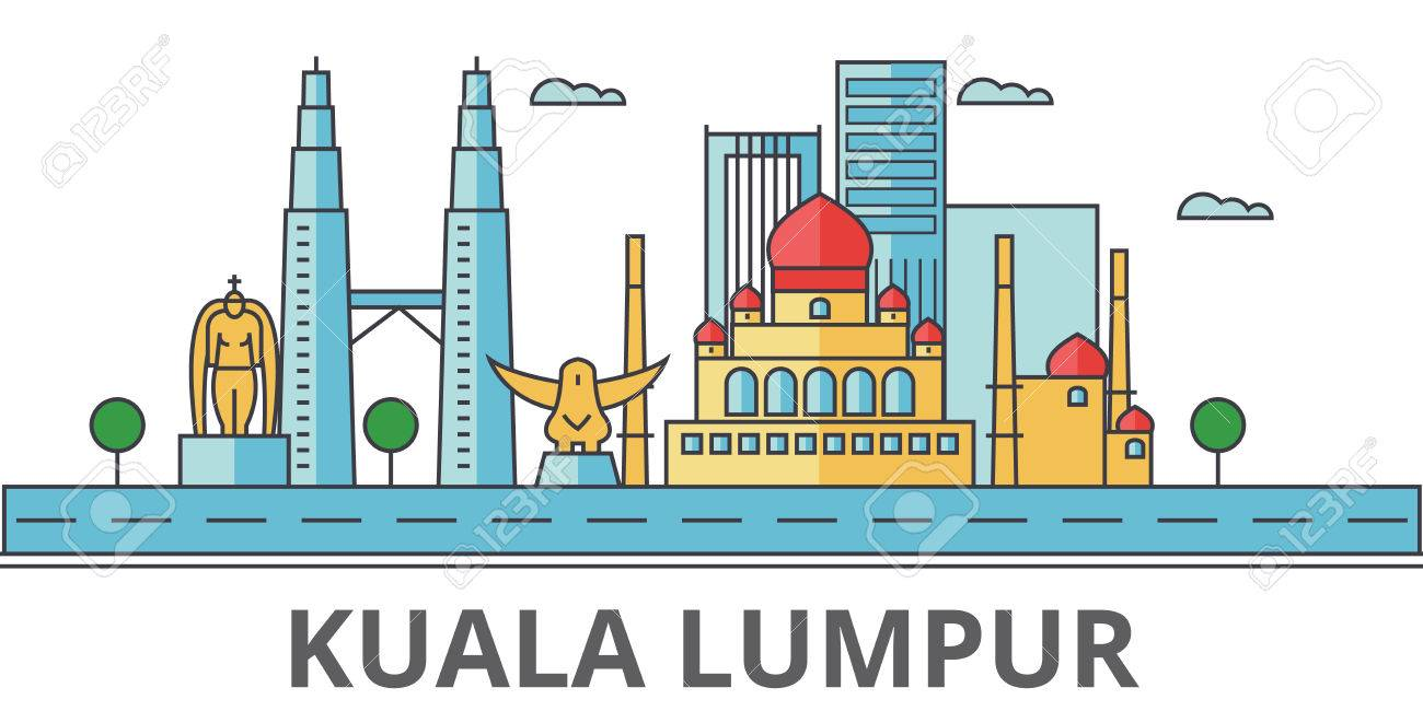 Image result for kuala lumpur clipart